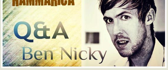 Ben Nicky Interview Hammarica PR